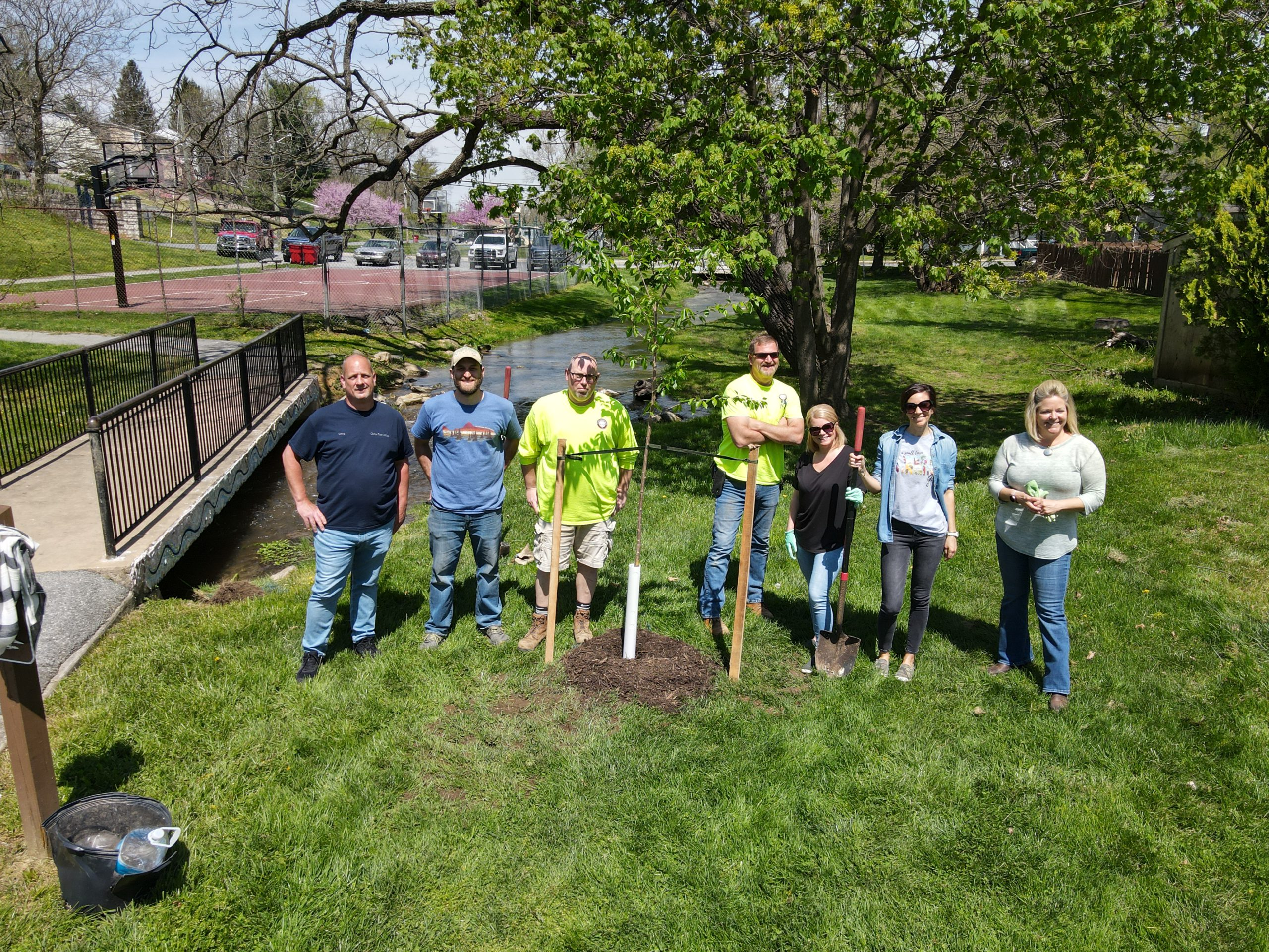 Tree Planting at Evitts Run Park